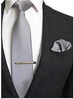 مجموعه لباس های جیمیژین جامد رنگ رسمی و جیب مربعی کراوات Pocket Square Tec for men