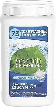 73-Count Seventh Generation Dishwasher Detergent Packs