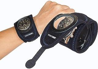 《Watch suit VR》は腕時計、スマートウォッチを5秒で簡単装着する保護プロテクターです。透明保護フイルムの上からスマートウオッチの操作可能なソフトカバー。GARMIN、GALAXY Gear、SUUNTOをプールで水泳等にも、信頼のメ...