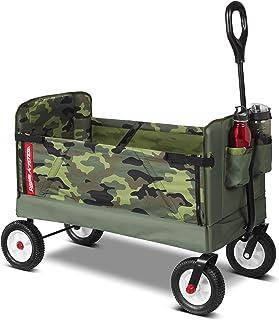 Radio Flyer 3-in-1 Camo Wagon Green, 39.37 x 18.50 x 30.71 Inches