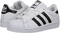 adidas Originals Kids - Superstar Iridescent C (Little Kid)