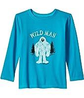 Life is Good Kids - Wild Man Long Sleeve Crusher Tee (Toddler)