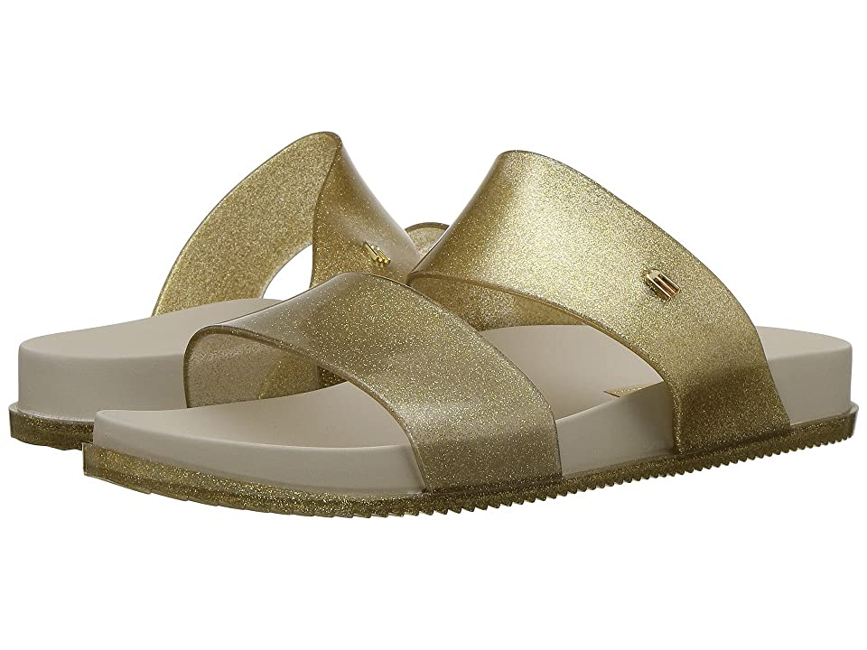 Melissa Shoes Cosmic (Gold Glitz/Beige) Women
