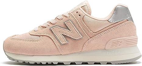 new balance mujer rosas y doradas