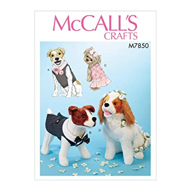 McCall's M7850 - Patrón para mascotas sin definir (talla única)