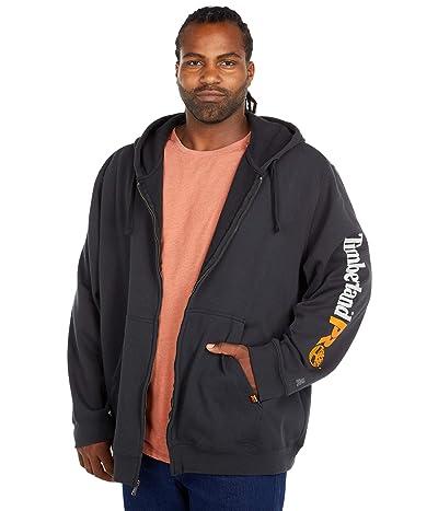 Timberland PRO Extended Hood Honcho Sport Full Zip (Black) Men