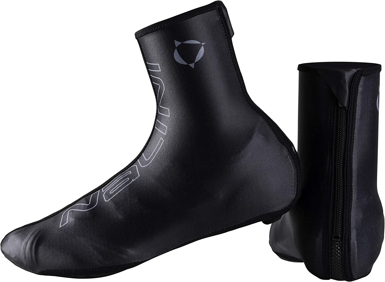 Nalini - Cubrezapatillas térmicas de Invierno Made in Italy Modelo AHW Classic Cover Shoes Color Negro 4000, Talla M 40-41