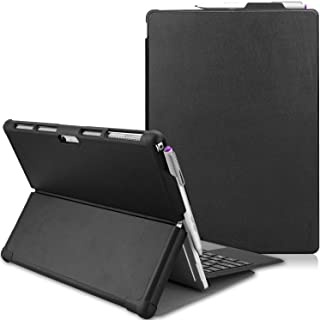 ProCase Microsoft Surface Pro 7 / Pro 6 / Pro 5 /Pro 2017 / Pro 4 / Pro LTE Case, Slim Light Smart Cover Stand Case with B...