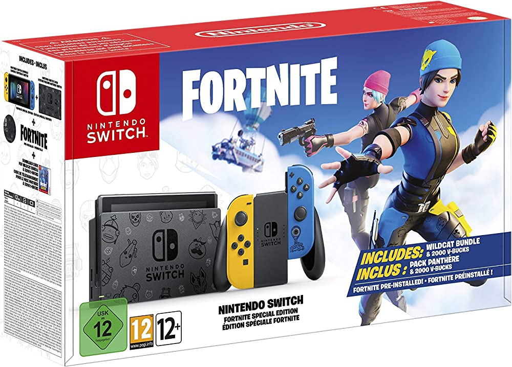 Nintendo switch edizione speciale fortnite - bundle limited - switch 10005217