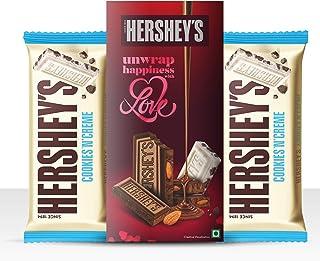 Hershey's Bar Greeting Pack Cookies n Creme Chocolate, 100 gm (Pack of 2)