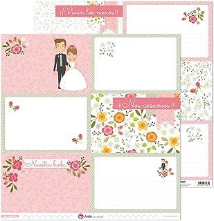 Anita y Su Mundo Collection Nos Casamos Papiers de scrapbooking, papier, grandes cartes, 30,5 x 30,5 cm