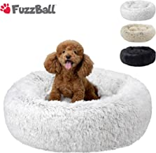 FuzzBall Fluffy Luxe Pet Bed for Dogs & Cats, Anti-Slip, Waterproof Base, Machine Washable, Durable – 3 Colors Available