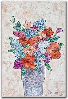 Flowers in Bloom by Garner Lewis, 16×24-Inch Canvas Wall Art
