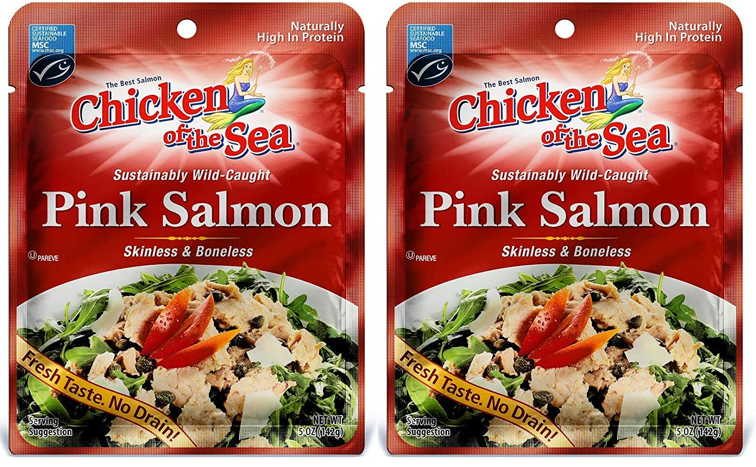 Chicken of the Sea Pink 5 Тwo Oz 100% quality warranty Daily bargain sale Salmon Рack
