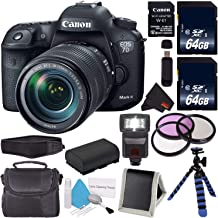 Canon EOS 7D Mark II DSLR Camera (International Version) with 18-135mm f/3.5-5.6 is USM Lens & W-E1 Wi-Fi Adapter 9128B135 + Memory Card + LP-E6 Replacement Lithium Ion Battery + Carrying Case Bundle