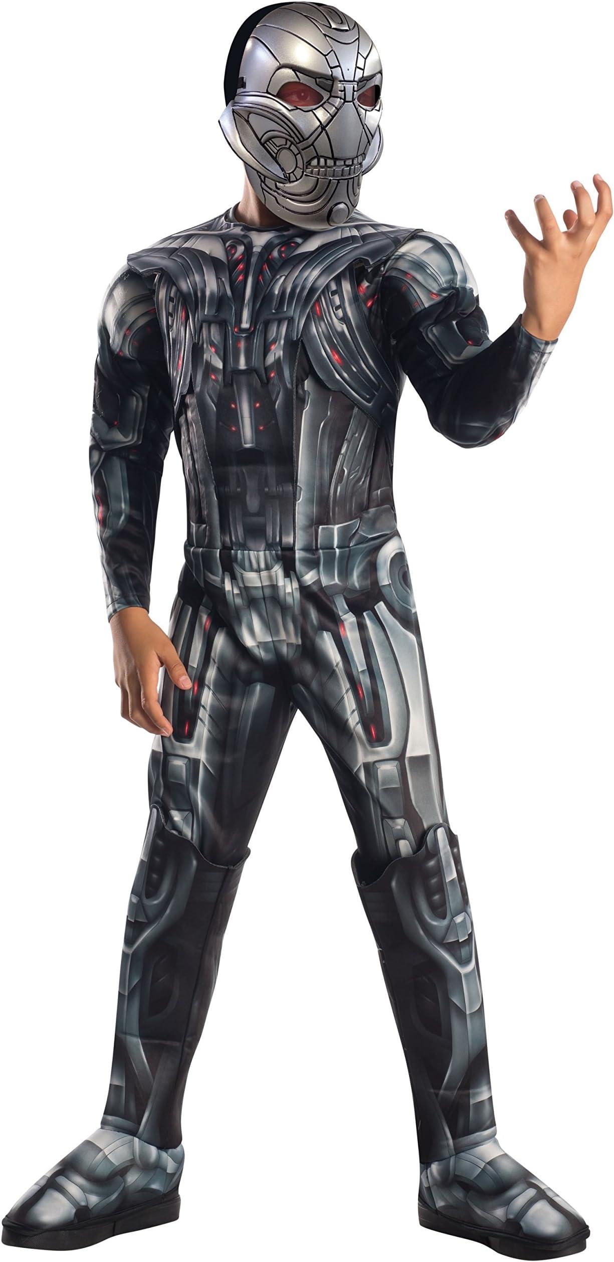 CL533 Avengers Age Of Ultron Marvel Deluxe Mens Super Hero Fancy Dress Costume