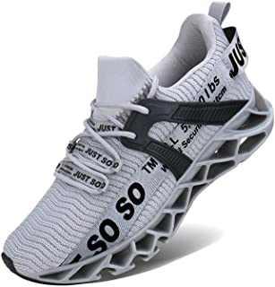 Mens Running Shoes Athletic Walking Blade Tennis Shoes...