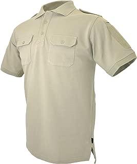 HAZARD 4 Men's Leo Uniform Replacement Battle Polo Shirt Black