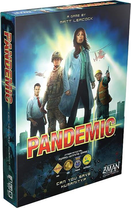 Asmodee- pandemic gioco da tavolo, versione inglese, multicolore, zmg 71100 ZM7101