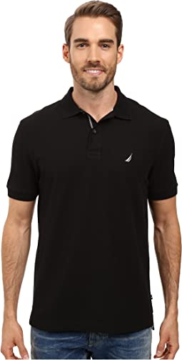 Nautica - S/S Solid Polo With Tape
