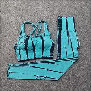 YOUPIN Seamless Women Yoga Set Fitness Clothing Sports Clothes high Waist Gym Suits Padded Push-up Sports Bra 2pcs Sports ...