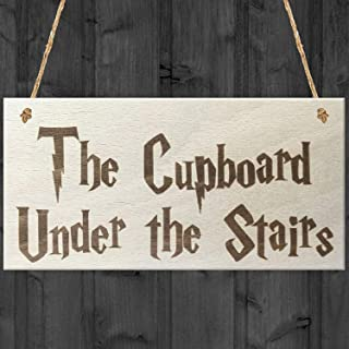 Best the cupboard under the stairs sign Reviews
