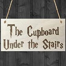 De kast onder de trappen op maat houten borden ontwerp opknoping Gift Decor voor thuis koffiehuis Bar 5 x 10 Inch