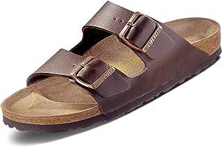 Birkenstock Arizona Birko Flor Navy Sandals