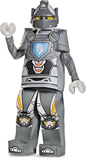 Disguise Lance Prestige Lego Nexo Knights Costume, Gray, Small (4-6)