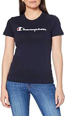 Champion T-Shirt Classic Logo, Femme