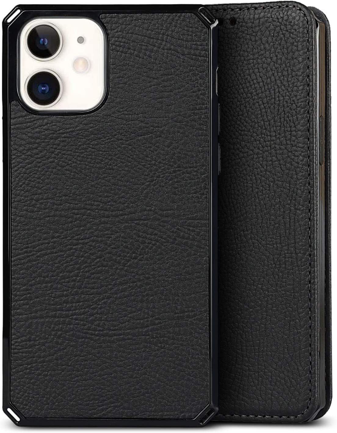 Litchi Leather Flip Cover with Stand Feature /&Card Slots Compartment for iPhone 12//12 Pro ShunJieTech for iPhone 12 Case,for iPhone 12 Pro Case 2 in 1 Magnetic Detachable Wallet 6.1 -Orange