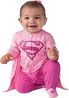 Costume Baby Girl's DC Comics Superhero Style Baby Supergirl Costume