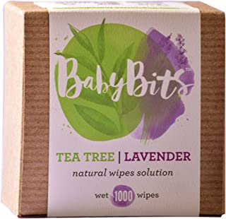 Baby Bits Wipes Solution - Makes 1,000 Natural Wipes & Made in the USA! (3 Pack)