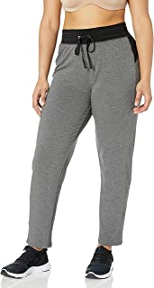 Just My Size Women's Plus Size Active French Terry Pant with Pockets