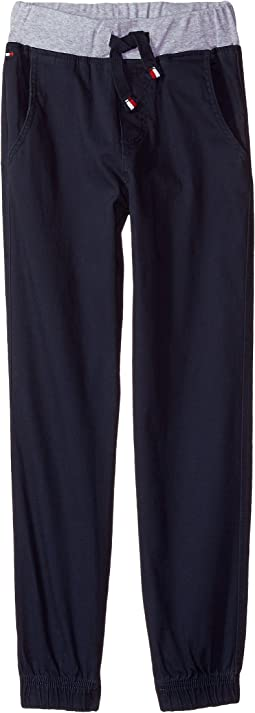 Tommy Hilfiger Kids - Stretch Twill Pull-on Jogger (Big Kids)
