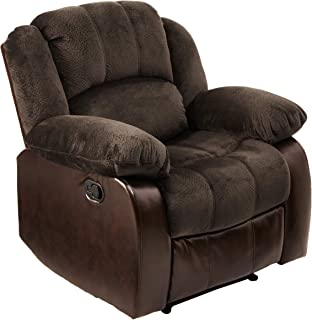 NHI Express Aiden Champion & PU Recliner, Peat