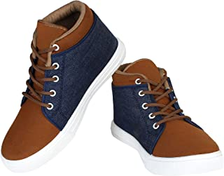 Zenwear Casual Shoes, Lace-UP, Sneaker for Men, Brown