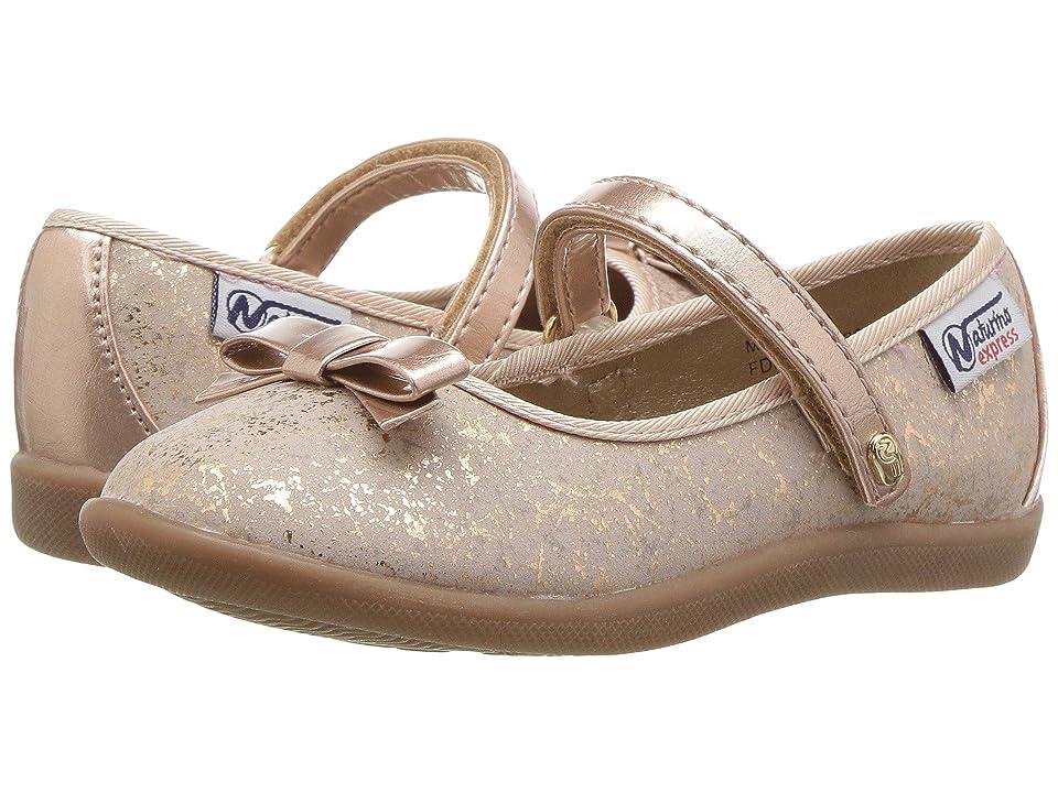 Naturino Express Marietta (Toddler/Little Kid) (Rose Gold) Girls Shoes