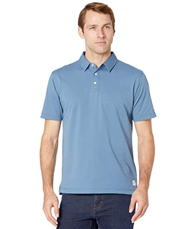 Linksoul LS1309 Organic Cotton/Recycled Poly Polo (Blue Slate) Men