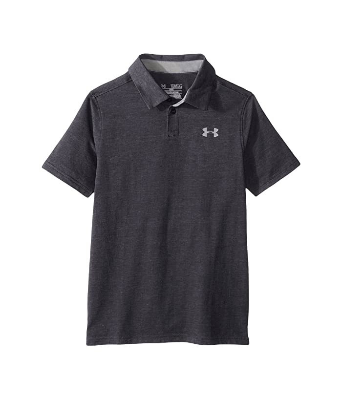 Under Armour Kids Charged Cotton Heather Polo Big Kids