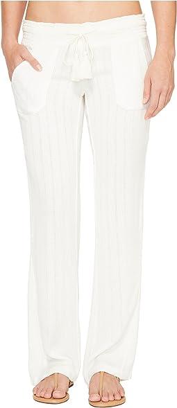 roxy ocean side pants coverup