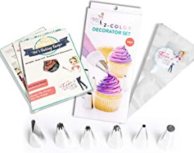 Tessa's Kitchen Club Kids Chef Baking Kits, Achievement Pin with Professional Chef Hat Apron and Accessories (Piping Set)