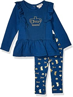 Juicy Couture Baby Girls 2 Pieces Leggings Set