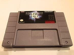 SNES Translation Final Fantasy Collection Final Fantasy II, III, IV, V, VI, Mystic Quest 6 Games in 1 Cart