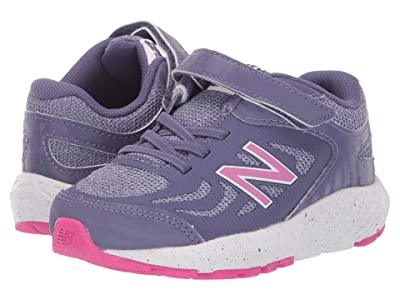 New Balance Kids 519v1 (Infant/Toddler) (Violet Fluorite/Clear Amethyst) Girls Shoes