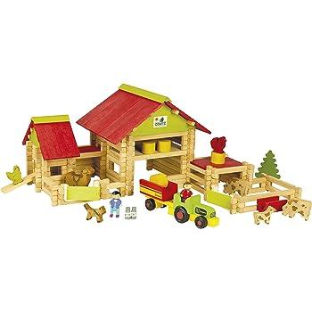 ferme jouet en bois hborn