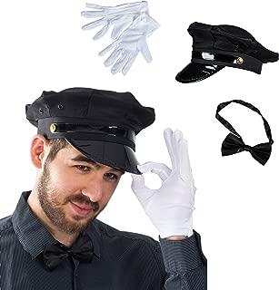 limo driver hat uniform