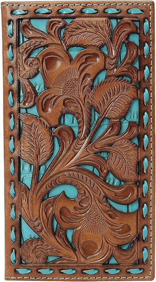 Tan/Turquoise