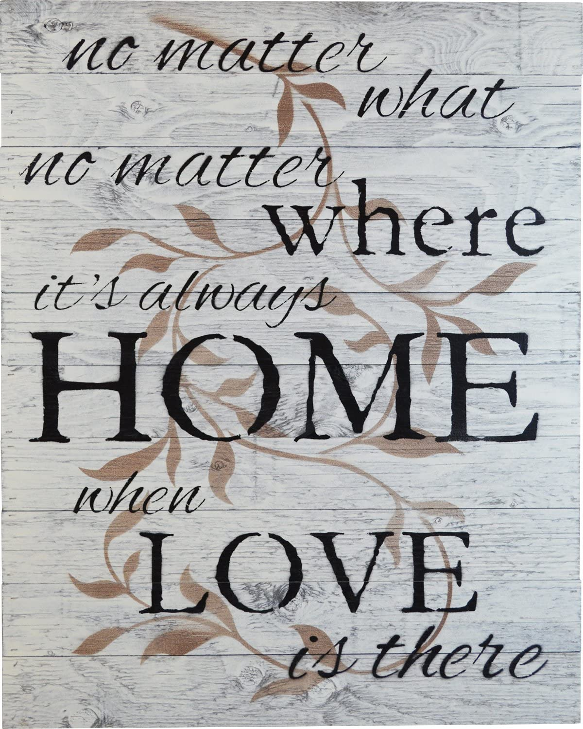 Rustic BARN Long-awaited Wood Pallet Sign - no What Matter Max 49% OFF Where No