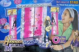 Disney Hannah Montana In Concert Stage Playset - The Ultimate Music & Light Show - Plays 2 Tunes (2007